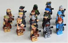 Bộ 6 lính lực lượng chống khủng bố lego