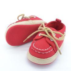 Giày Tập Đi Bata Cột Dây Sành Điệu Cho Bé