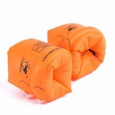 Phao tay tập bơi cho bé an toàn nhỏ gọn (Bộ 2 cái) HU-TP006 ToPha (Màu cam)