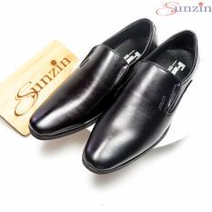 Giày công sở không dây khâu tay – Giày nam DA BÒ THẬT 100% Sunzin G5150 – Giày tây da lịch lãm (giay nam / giay luoi / giầy da / giầy công sở / giày tây / giày da nam / giày nam đen / giày nam giá rẻ / giày nam thời trang)