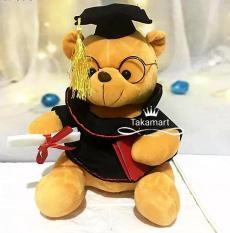 Gấu bông tốt nghiệp – Gấu bông cử nhân cao 25cm