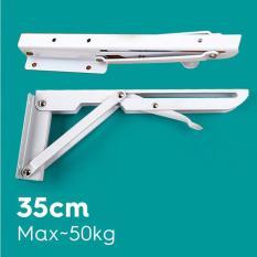 Bộ bản lề gập treo tường a2 35cm chịu tải 50kg