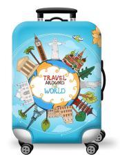 Túi bọc bảo vệ vali -Áo vỏ bọc vali – Size S- HPValiOEM