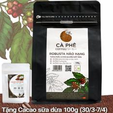 Bảng Báo Giá Cà phê bột nguyên chất 100% Robusta Hảo Hạng – Light coffee – gói 100g