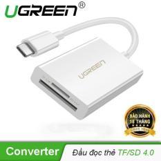 Đầu đọc thẻ USB Type-C cho thẻ nhớ TF/SD 4.0 UGREEN 40864 – Hãng phân phối chính thức