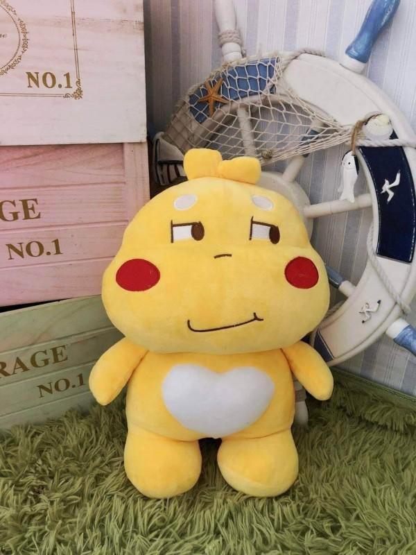 Gấu Bông Sticker Qoobee Thần Thánh Hàng Nhập Cao Cấp Size 50cm Siêu To , Dễ Thương DH3