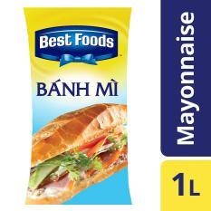 Xốt Mayonnaise bánh mì Best Food 1L