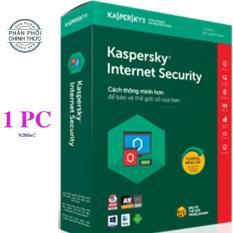 PHẦN MỀM BẢO MẬT MÁY TÍNH KASPERSKY INTERNET SECURITY 1PC – HÃNG PHÂN PHỐI CHÍNH THỨC
