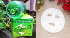 Combo bịch mặt nạ lột mụn 25 miếng và Gel lột mụn trà xanh T&T 30g