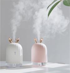 Máy phun Sương xông tinh dầu tạo độ ẩm kiêm đèn ngủ cao cấp