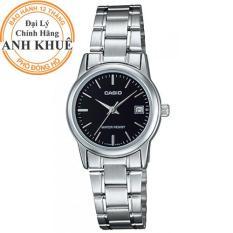 Đồng hồ nữ dây kim loại Casio Anh Khuê LTP-V002D-1AUDF