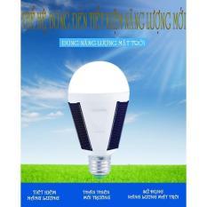 Đèn LED năng lượng mặt trời-loại 12w cao cấp