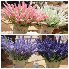 Cành hoa lavender – Hoa giả lavender trang trí nhà cửa (1 cành)