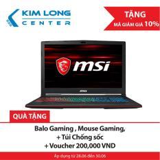 Laptop MSI GP63 8RD-098VN Leopard i7-8750H 15.6 FHD – Hãng Phân Phối Chính Thức