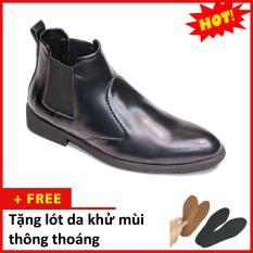 Giày Chelsea boot nam đẹp cổ chun da nhám CB520(L)-DENNHAM