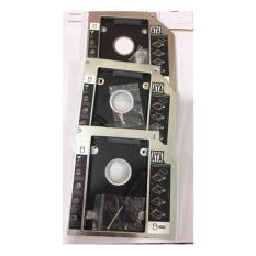 Caddy Bay Dell Inspiron 14 (3421, 3437, 3441, 3442, 3443, 7447 chuẩn SATA 9.5mm khay lắp ổ cứng Hàng nhôm cao cấp tặng tua vít và ốc vít