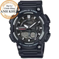 Đồng hồ nam dây nhựa Casio Anh Khuê AEQ-110W-1AVDF