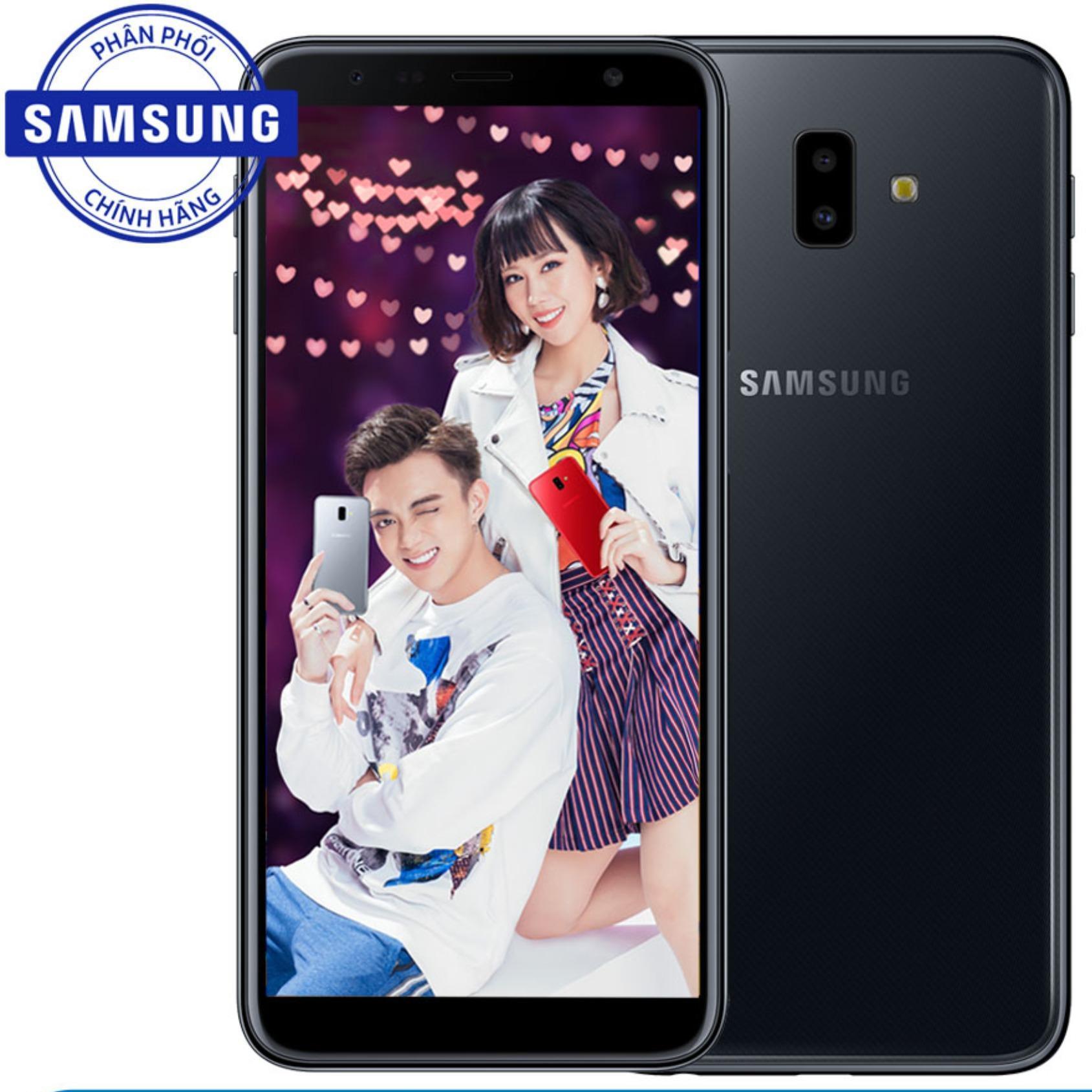 Đánh giá Samsung Galaxy J6+ 32GB – Hãng phân phối chính thức Tại Samsung