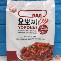 Bánh gạo Hàn Quốc Topokki Yopokki Siêu cay bịch