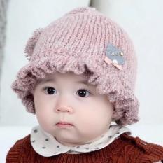 Mũ len muối tiêu thu đông cực đáng yêu cho bé