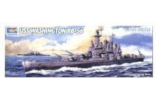 Mô hình tàu chiến – thiết giáp hạm USS WASHINGTON BB-56