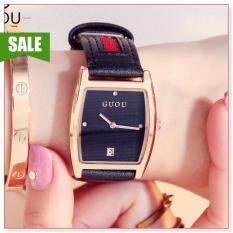 Đồng hồ nữ hiệu GUOU 8074 thiết kế đơn giản, sang trọng, phong cách