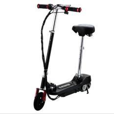Xe scooter điện E-Scooter 15km/h, tải trọng 80kg, 120w thiết kế chắc chắn (Xanh)
