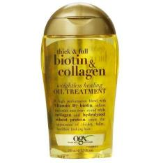 Dầu Dưỡng tóc OGX Biotin Collagen Oil Treatment kích thích mọc tóc, ngăn ngừa rụng tóc số 1 tại Mỹ