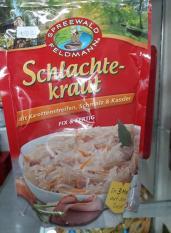 Bắp cải muối Schlachte kraut 400 gr