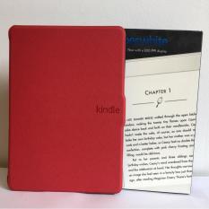 Giá Máy Đọc Sách All-New Kindle PaperWhite (2018) màu trắng và Bao da đỏ