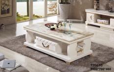 Bàn sofa mặt đá nhập khẩu Mina Furniture MN-T204-13 (1300*700*460)