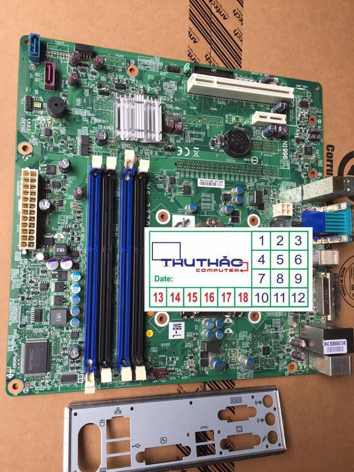 MAIN B75 H61 4 KHE RAM HỖ TRỢ VGA