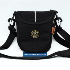 Túi máy ảnh Mirrorless Baroca CA-806 (nhỏ gọn, chống thấm nước) – Sử dụng cho máy Sony, Fujifilm, Canon M – Black