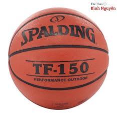 Bóng rổ số 7 Wilson, Spalding màu cam,nâu đất Tặng kim bơm, lưới đựng