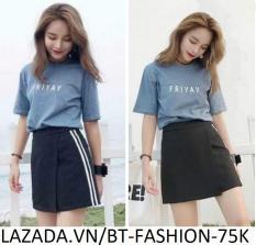 Quần Sọt Đùi Nữ Giả Váy Thời Trang Hàn Quốc Mới – BT Fashion (VA01-2S)