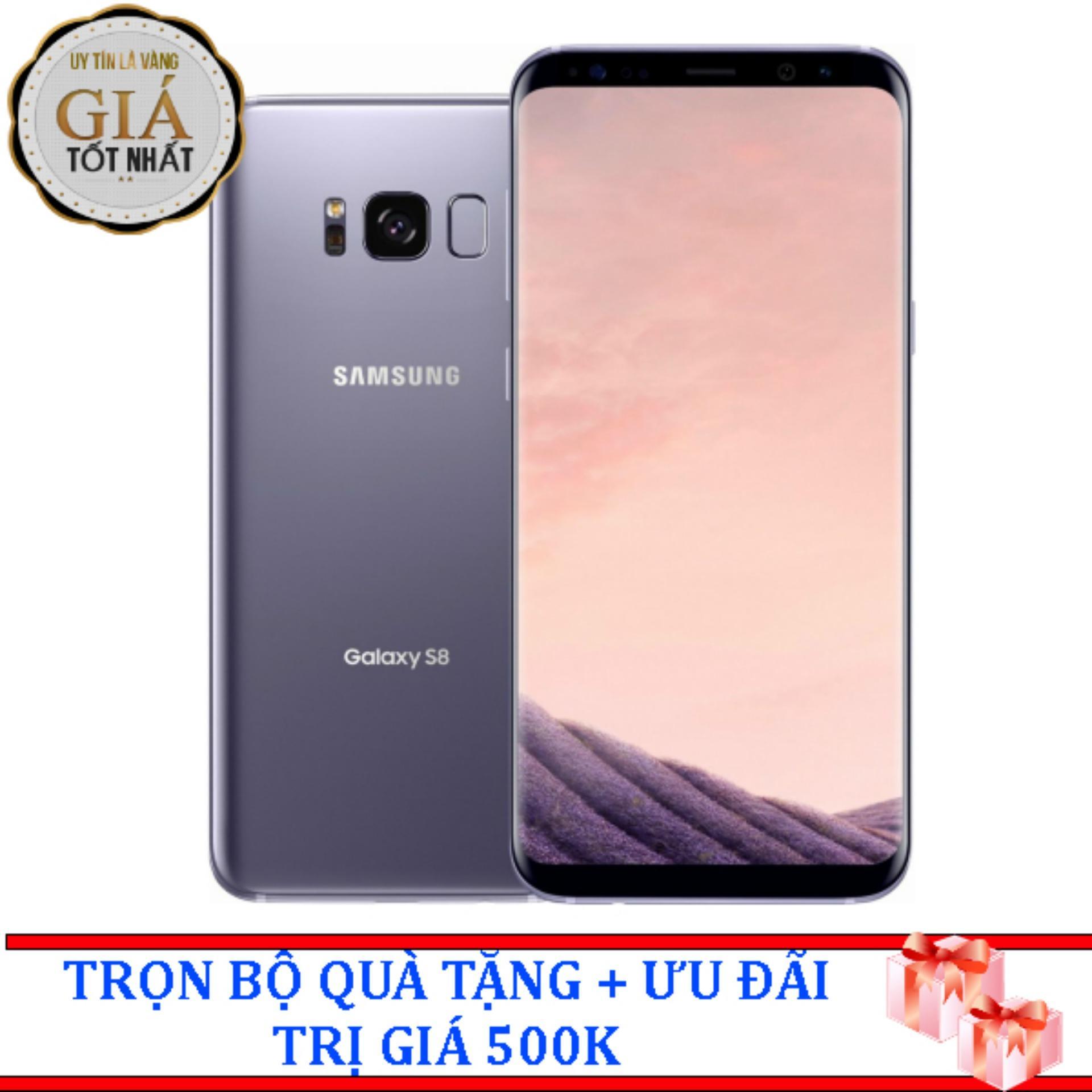 Đánh giá Samsung Galaxy S8 Plus 64g Ram 4gb 6.2inch (Tím Khói) – Hàng Nhập Khẩu Tại BÍCH NGỌC MOBILE(Tp.HCM)