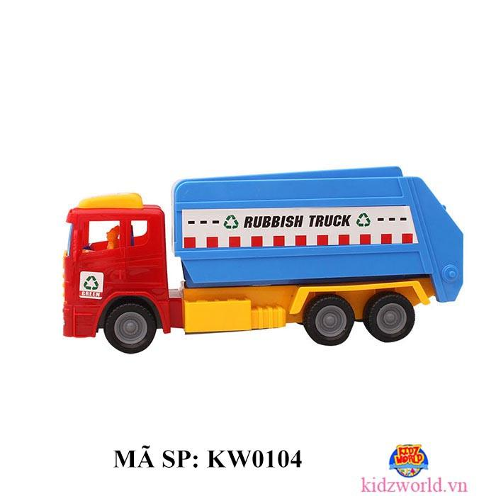 Xe chở rác KW0026