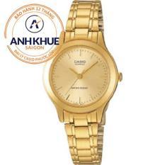 Đồng hồ nữ dây thép không gỉ Casio Anh Khuê LTP-1128n-9ardf