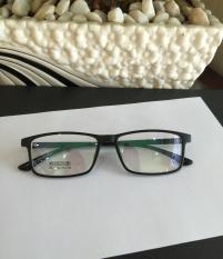 Kính Mắt vuông Gọng nhựa siêu dẻo Hàn Quốc (ĐEN)