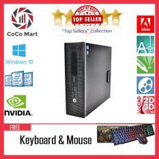 Máy tính đồng bộHP EliteDesk 800 G1 SFF Chạy CPU Core i7-4770, Ram 8GB, SSD120GB + Bộ Quà Tặng – Hàng Nhập Khẩu
