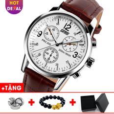 Đồng hồ dây da cao cấp SKMEI SK016 – Boss Watches