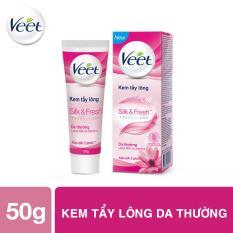 Kem tẩy lông cho da thường Veet Silk Fresh 50g