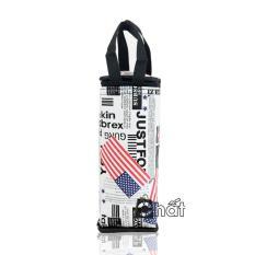 Túi giữ nhiệt bình nước phong cách Châu Mỹ
