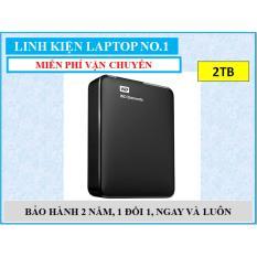Ổ cứng di động USB 3.0 Western Digital Elements 2TB + Tặng kèm Hộp đựng ổ cứng di động