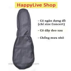 Bao đàn Ukulele 1 lớp màu đen (size Soprano/Concert) – HappyLive Shop