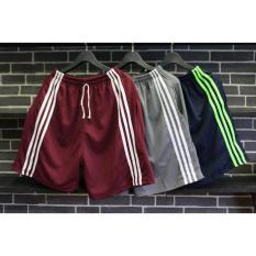 Bộ 3 quần đùi thun nam 3 sọc (nhiều màu)