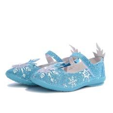 Giày Búp Bê Bé Gái Bitis Frozen Nữ Hoàng Băng Giá DBB005211XDG (Xanh dương)