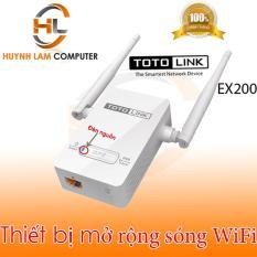 Bộ kích sóng WiFi – Thiết bị mở rộng sóng WiFi Totolink EX200 phủ sóng mạnh mẽ đến mọi nơi DGW phân phối