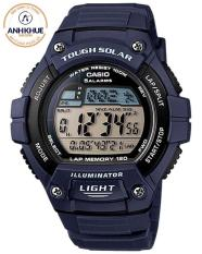 Đồng hồ nam dây nhựa casio Anh Khuê W-S220-2AVDF