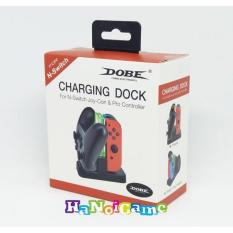 Dock sạc Dobe cho tay Pro Controller và Joy-Con Nintendo Switch